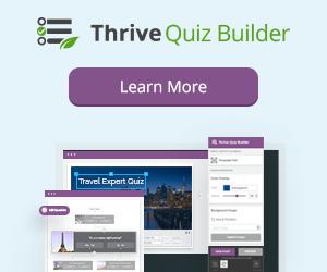 System Stream - Thrive Quiz Builder