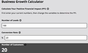 Online Business Growth Calculator