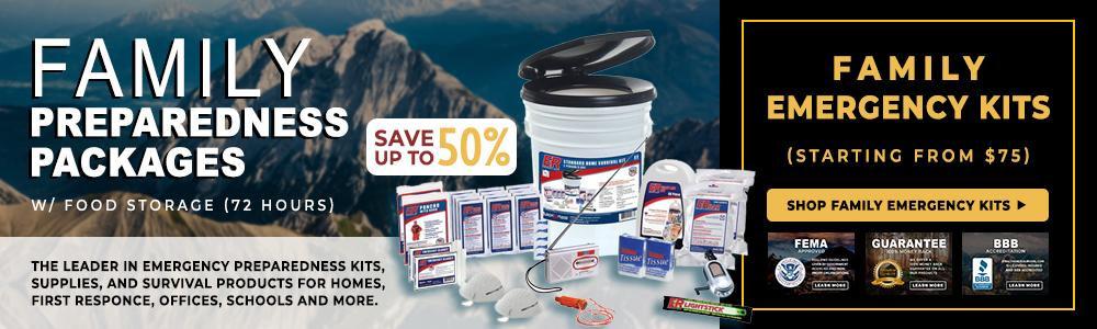 Best Survival Prepper - Emergency Preparedness Kit