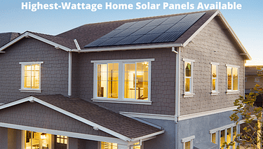 Best Survival Prepper - Highest Wattage Solar Panels Available