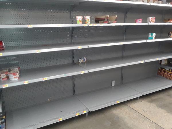 Best Survival Prepper - Empty Grocery Store Shelves